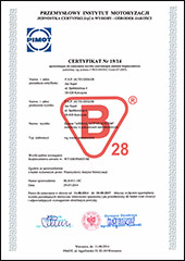 Pokrowce autonabogato certyfikat